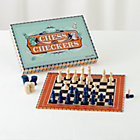 Chess and Checkers Board Game Set