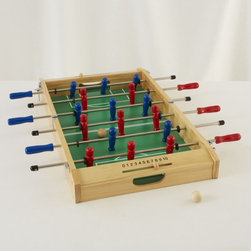 Honey I Shrunk the Foosball Table