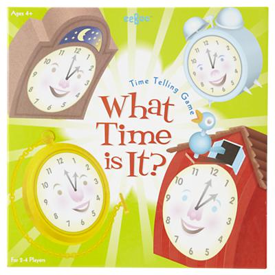 Time We'll Tell Game (What Time Is It?)