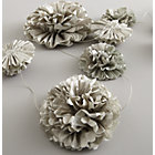 Full Bloom Metallic Garland