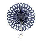Dk. Blue Large Paper Fan