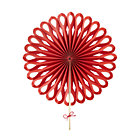 Red Large Paper Fan