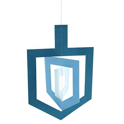 Spinning Dreidel Hanging Decor