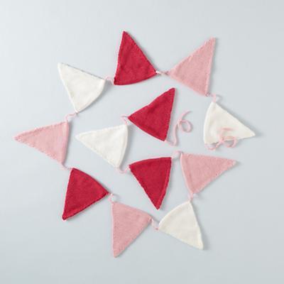 Capture the Flag Garland (Pink)