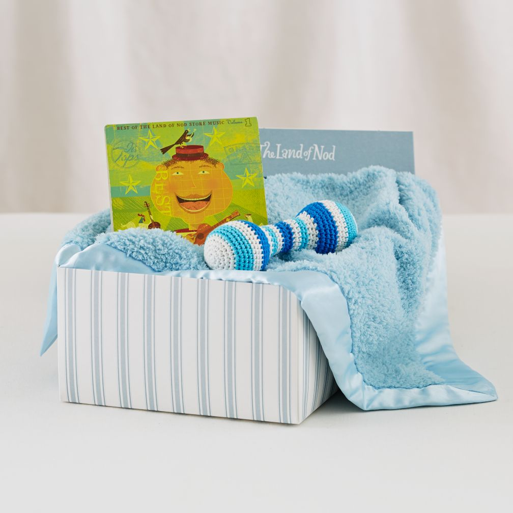 Big Nod Baby Gift Set (Blue)