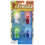 Finger Flashlights (Set of 4)
