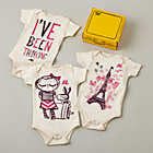 3-6 mos. Lately Lily One-Piece Girl Gift Box