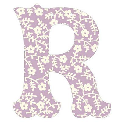 R Fancy Font Wallpaper Letter