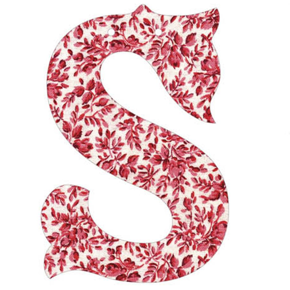 S Fancy Font Wallpaper Letter