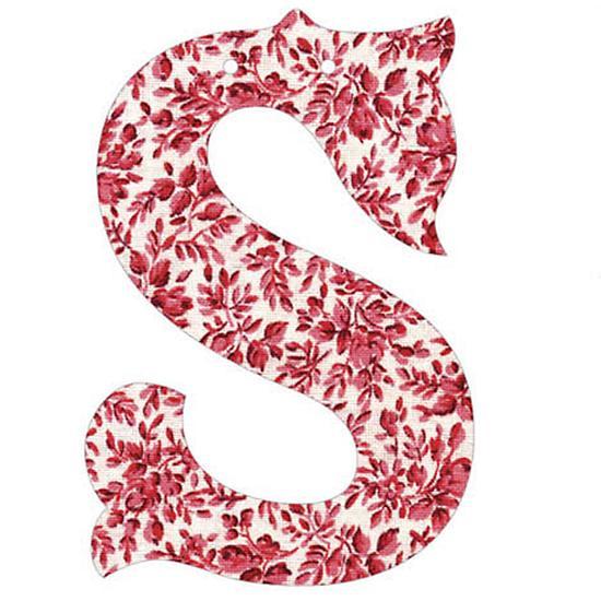 S Fancy Font Wallpaper...