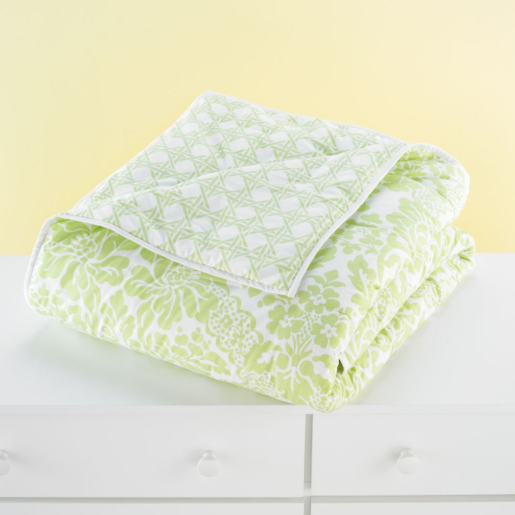 With a Flourish Comforter (Green)