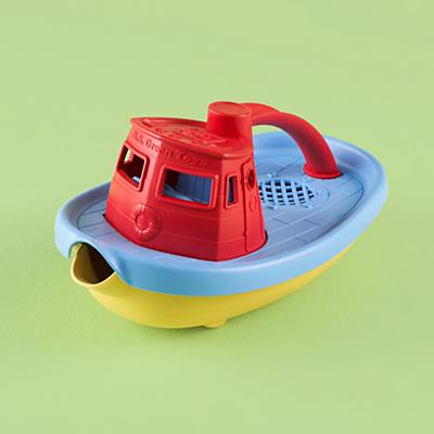 GreenToyTugboat