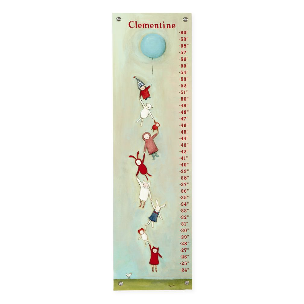 Personalized Fly Together Growth Chart