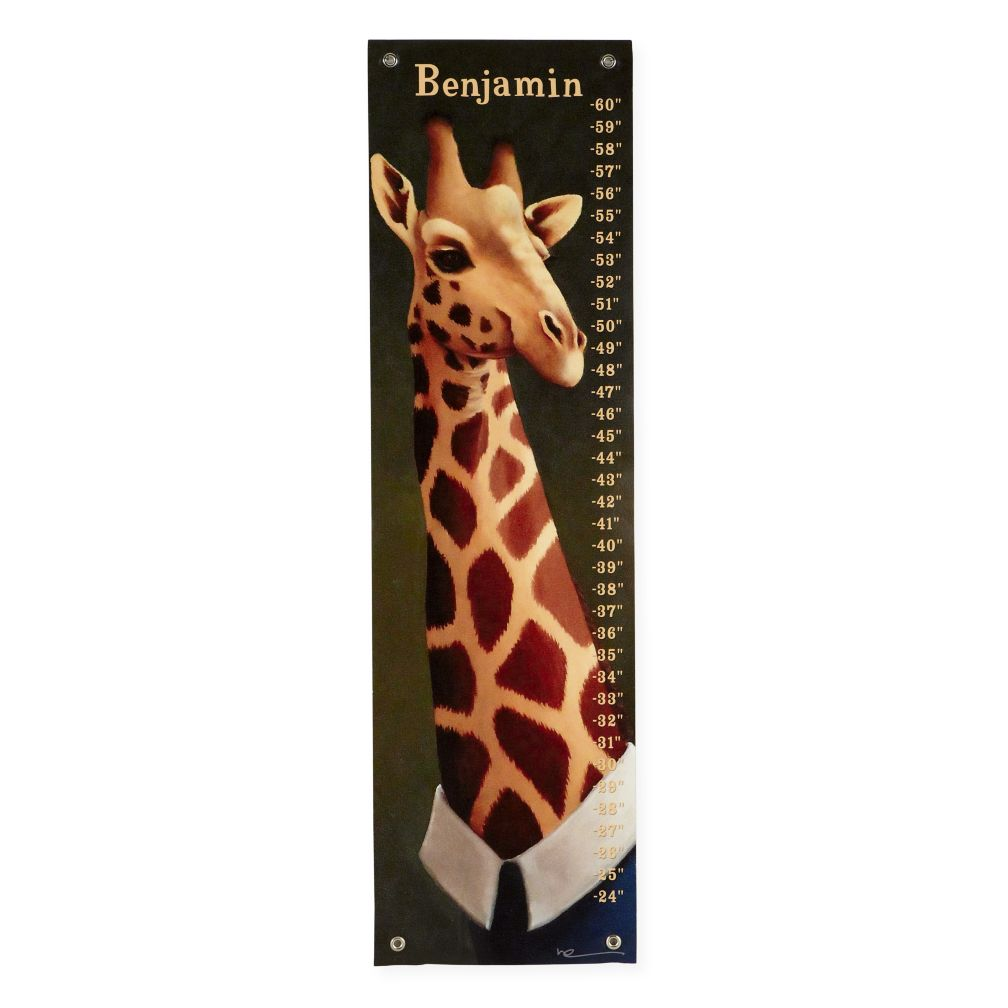 Tall Giraffe Growth Chart
