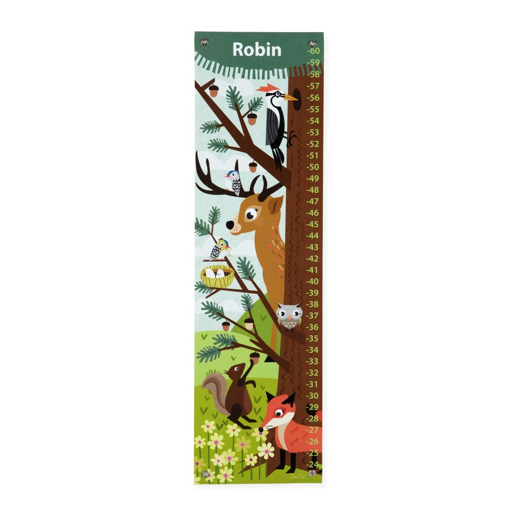 Personalized Wildlife Growth Chart
