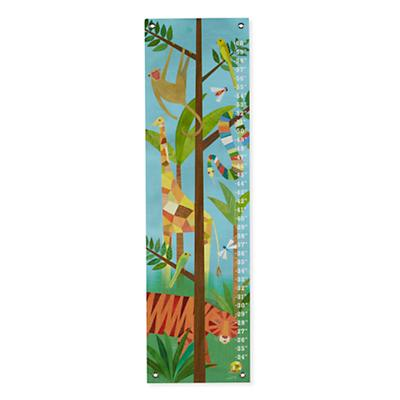 Jungle Animals Growth Chart