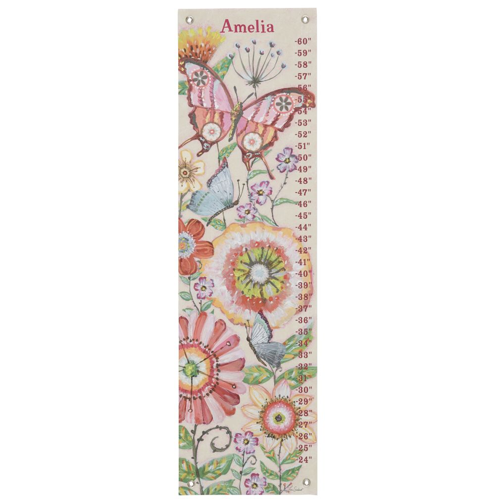 Mariposa Garden Growth Chart
