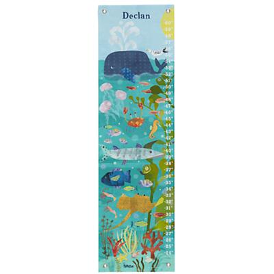 Personalized Ocean Swimmers Growth Chart