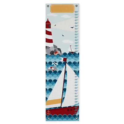 Personalized Sail Away Growth Chart