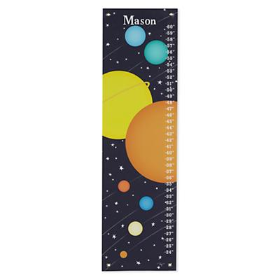 Personalized Solar System Growth Chart