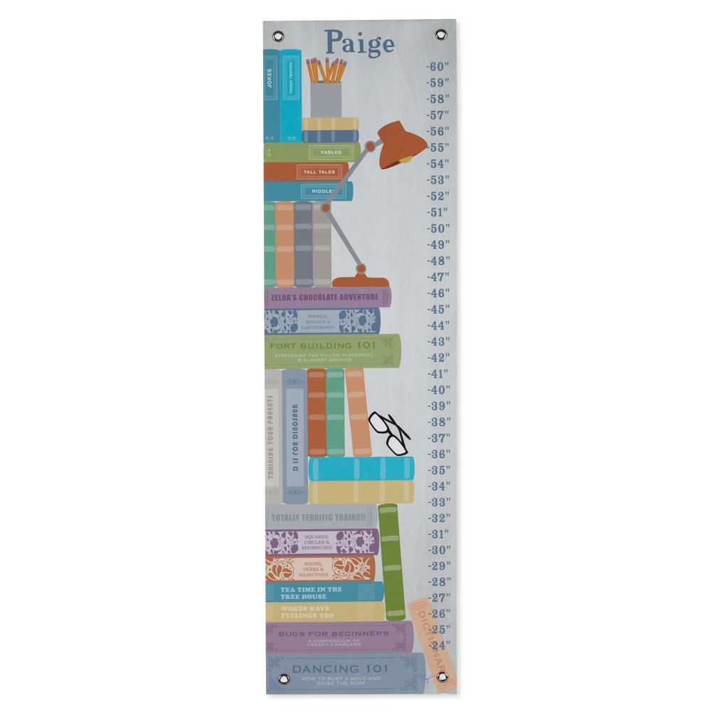 Stack of Books Growth Chart