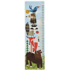 Woodland Animals Growth Chart