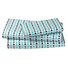 Twin Bongos Sheet Set(includes 1 fitted sheet, 1 flat sheet and 1 case)