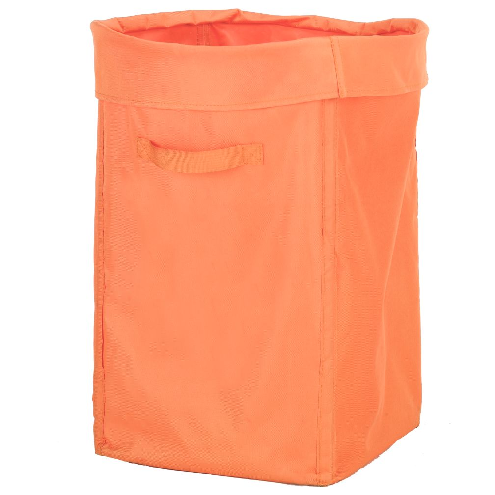 I Think I Canvas Hamper (Orange)