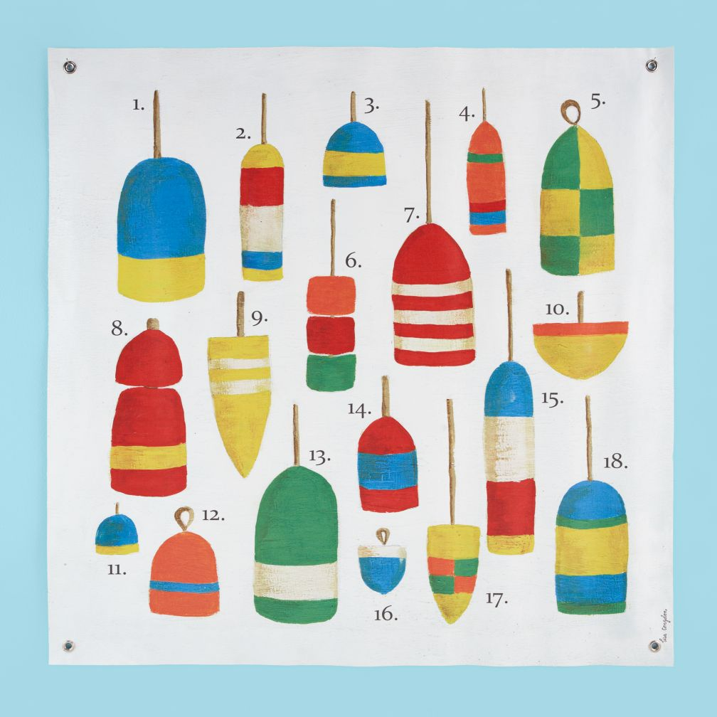 One of the Buoys Wall Art