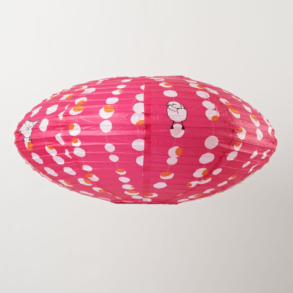 Oval Bird Animal Lantern