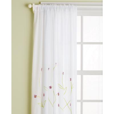 "84"" Hanging Garden Curtain Panel (Lavender)"