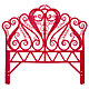 Full Aria Headboard (Hot Pink)