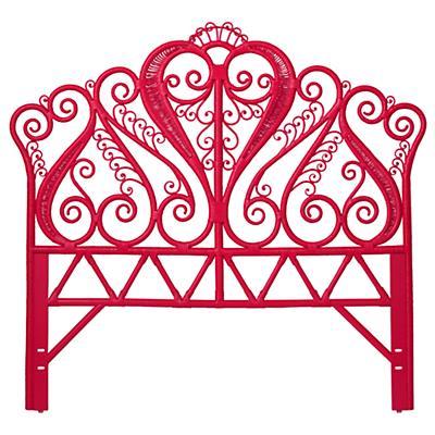 Full Aria Woven Headboard (Hot Pink)