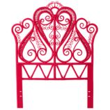 Twin Aria Headboard (Hot Pink)