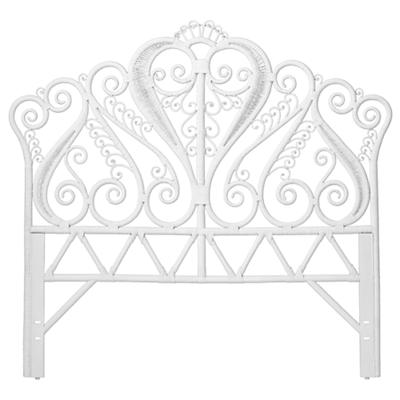Full Aria Headboard (White)