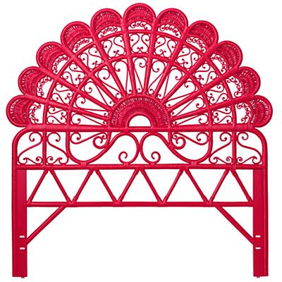 Full Princess Plume Headboard (Hot Pink)