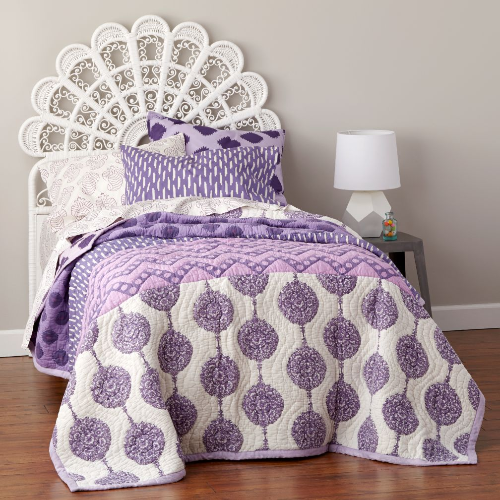 Princess Plume Woven Headboard (White)