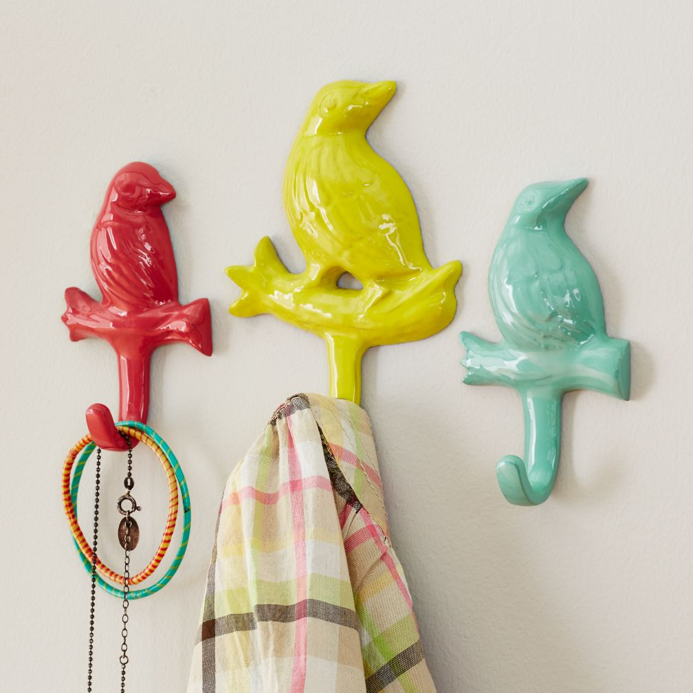 Birdwatcher Wall Hook