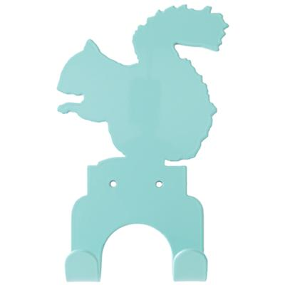 Squirrel Wall Hook (Aqua)
