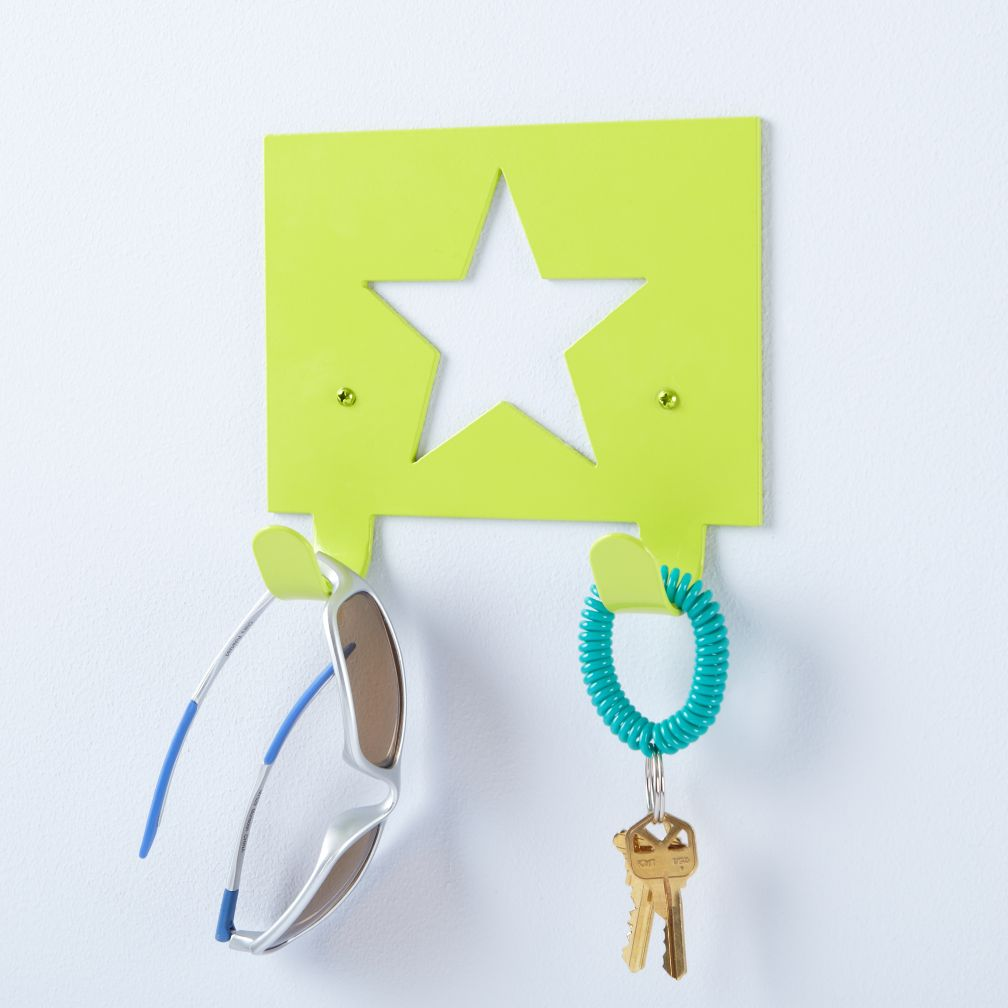 Star Studded Wall Hook (Green)