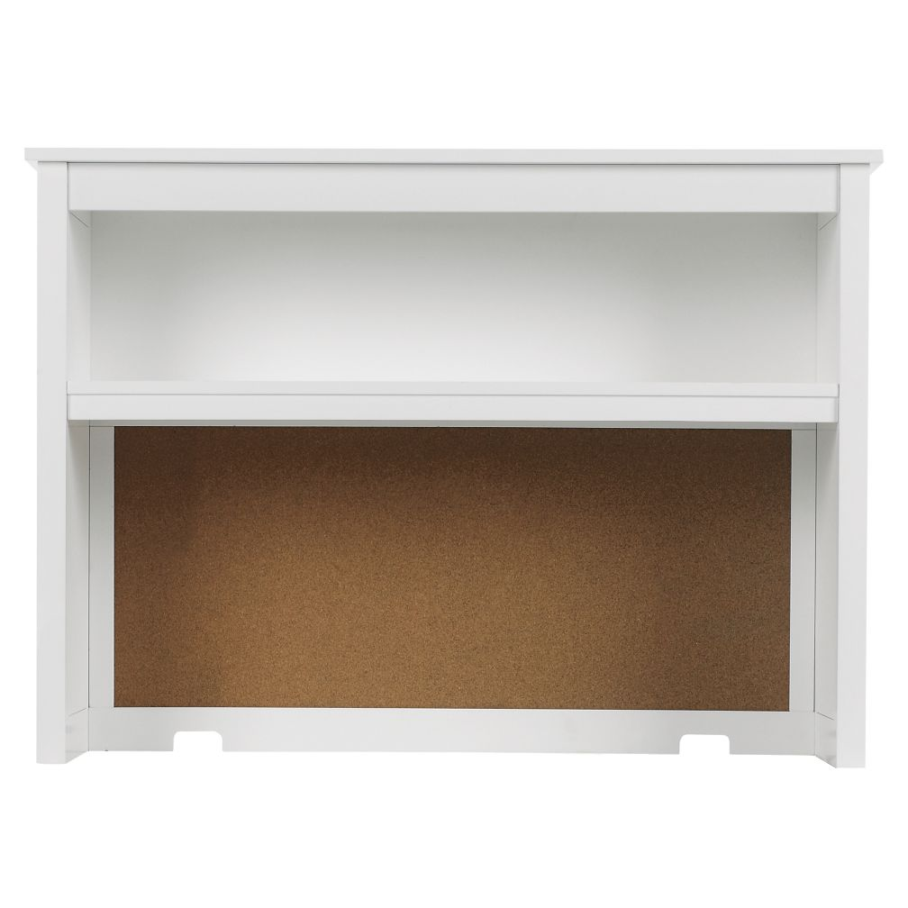 Simple Desk Hutch (White)