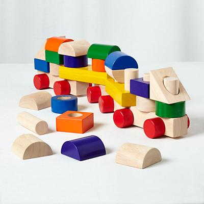 Activity Train Block Set