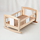 Doll World Wooden Cradle