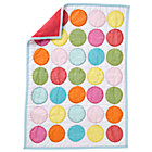 Doll World Multi Circle Tissue Quilt