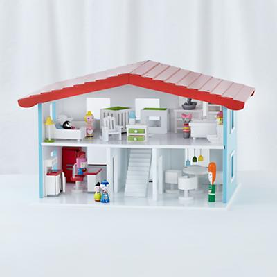 Cottage Dollhouse and Doll Furniture