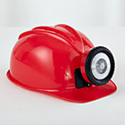 Red Miners Helmet