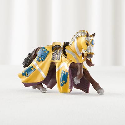 Blue Draped Horse