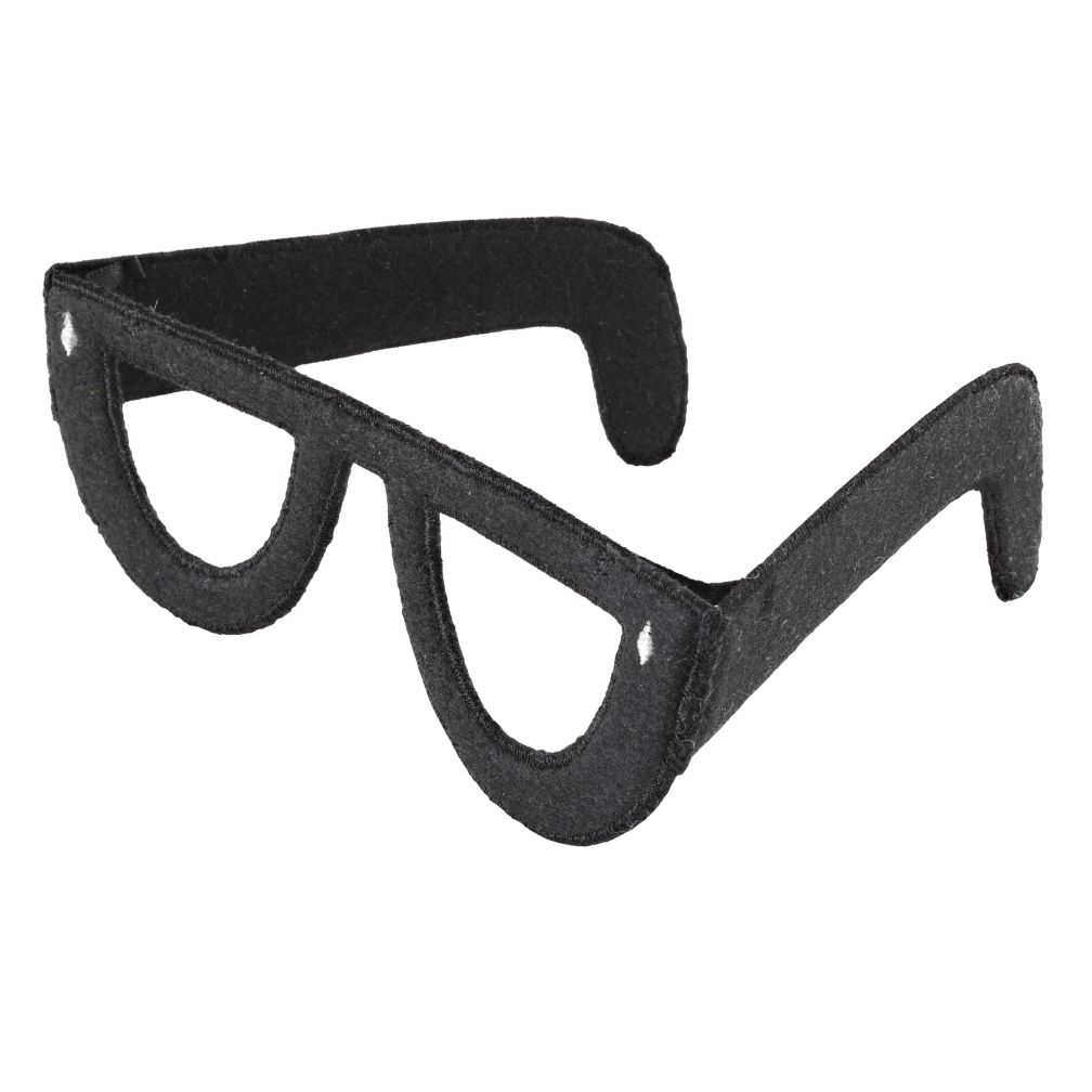 Black Professor Glasses