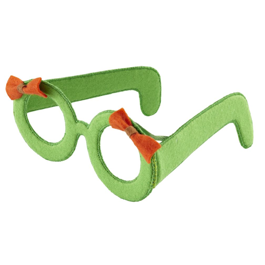 Green Bow Glasses