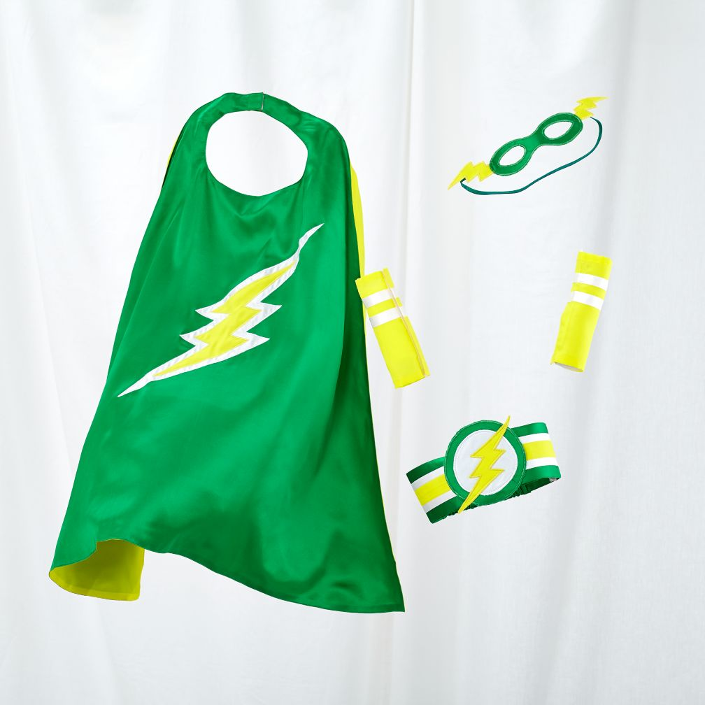 Super Sidekick Costumes (Green Lightening Bolt)